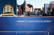 YARMOUTH DOWNTOWN BLUEPRINT