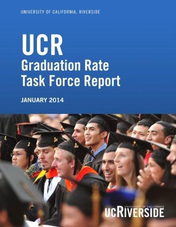Graduation Rate Task Force Report January 10 2014