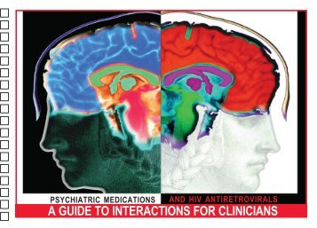 A GUIDE TO INTERACTIONS FOR CLINICIANS