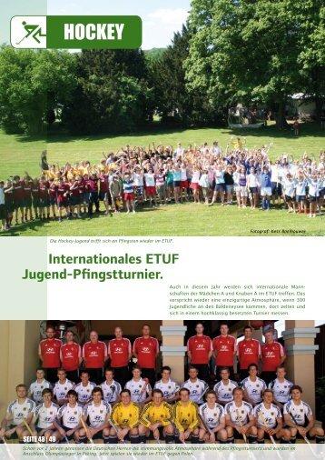 25. bis 27. Juni 2010 im ETUF. - ETUF Essen