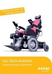 Etac Elektro-Rollstühle