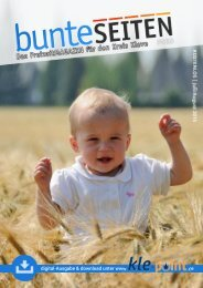 Freizeitmagazin BunteSeiten Juli/August 2015