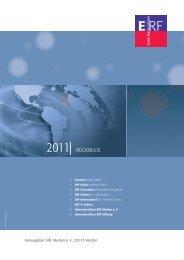2011  RÜCKBLICK - ERF