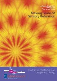 Making Sense of Sensory Behaviour