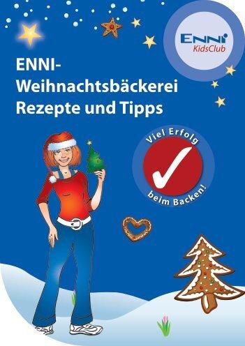 KidsClub ENNI- Weihnachtsbäckerei Rezepte und Tipps Viel Erfolg ...