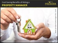 Cost Saving Benefits of Property Manager in Kansas City