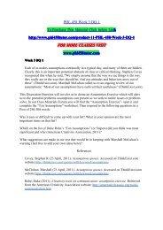 PHL 458 Week 3 DQ 1/phl458tutordotcom