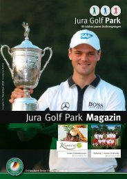 Jura Golf Parkf Magazin 2014