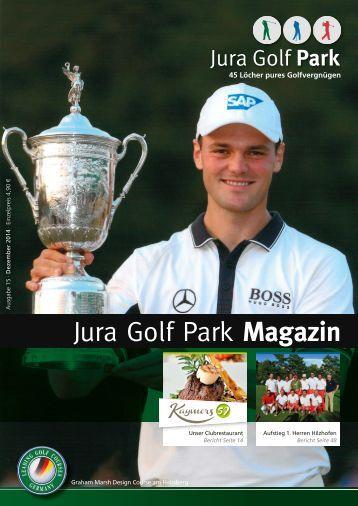 Jura Golf Parkf Magazin 2014