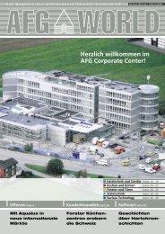 Herzlich willkommen im AFG Corporate Center!
