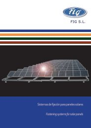 Fastening systems for solar panels
