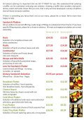 Buffet Menu - Page 2