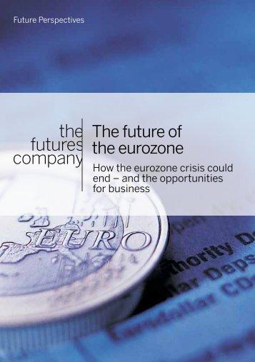 The future of the eurozone