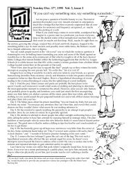 """Sunday Dec. 17th, 1995 Vol. 3, issue 2 """"If you can't ... - Hell's Kitchen"""