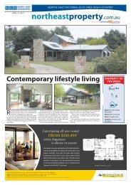 Contemporary lifestyle living