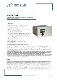 K924 / GR - FTL Tritschler Elektronik+Feingerätebau