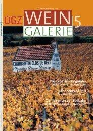 Weingalerie 5/05 zum Download (pdf, 1,4 - Forum Gastronomie