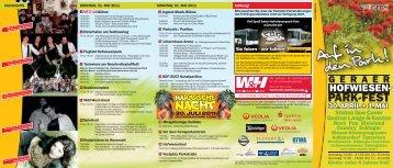 Flyer Hofwiesenparkfest (application/pdf 661.3 KB) - Stadt Gera