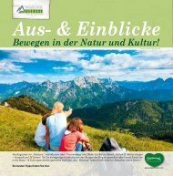 Aus- & Einblicke - Alpenregion Nationalpark Gesäuse