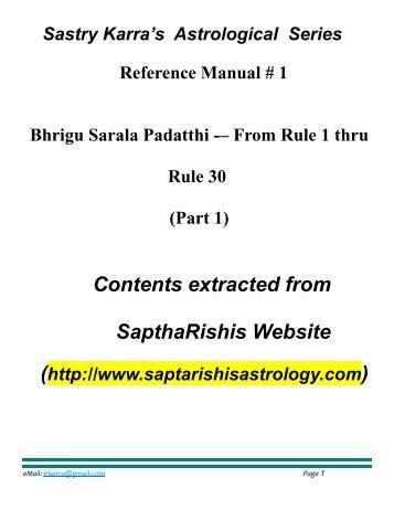Bhrigu Samhita In Hindi Pdf