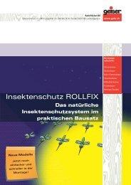 Insektenschutz ROLLFIX