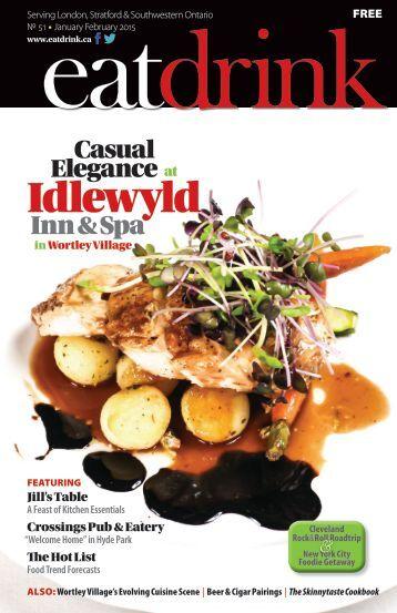 Eatdrink #51 January/February 2015 issue