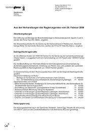 Bulletin 07 vom 26. Februar 2008.pdf - Kanton Glarus