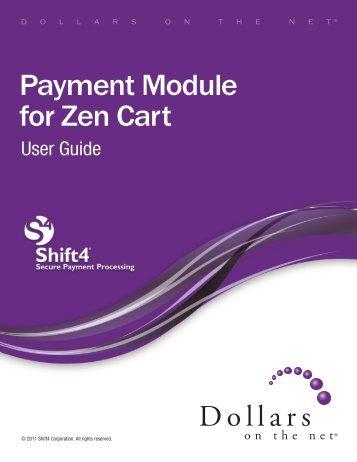 Payment Module for Zen Cart