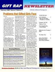 Volume 9 - Edition 2 February 2009 - DiscoverTeenergy.com