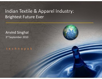 Indian Textile & Apparel Industry