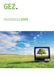 gb 2009 endfassung.indd - GEZ