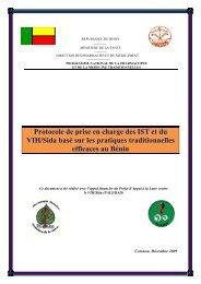 Protocole de prise en charge des IST et du VIH/Sida basé sur les ...