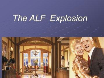 The ALF Explosion
