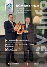 DGV-Info 2/2010 - Golf.de
