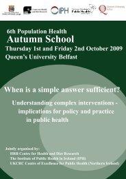Autumn School