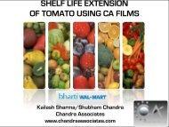 OF TOMATO USING CA FILMS
