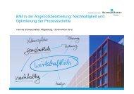 Erfolgreiche deutschlandweite Umsetzung bei der Bilfinger Berger ...