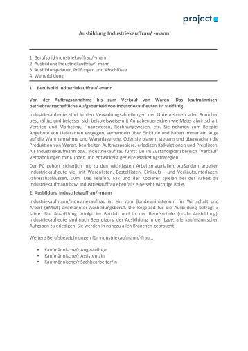 Ausbildung Zur/Zum Bürokauffrau/-Mann