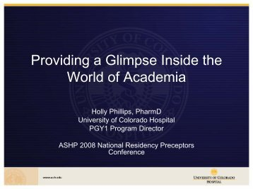 World of Academia