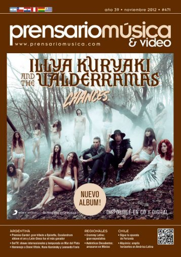 prensario música & video | noviembre 2012