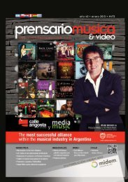 prensario música & video | enero 2013