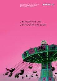 Jahresbericht und Jahresrechnung 2008