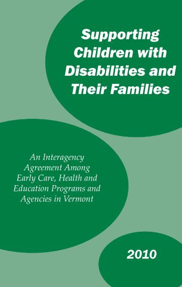 Supporting Children with Disabilities and Their Families