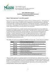 PBA and Fieldwork Guidelines – ESOL - FAST TRAIN Program