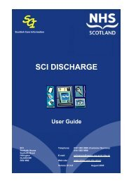 accessing sci discharge - SHOW Site