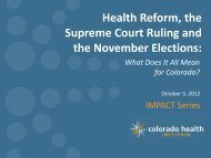 Health Reform the Supreme Court Ruling and the November Elections
