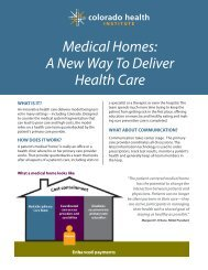 Medical Homes A New Way To Deliver Health Care