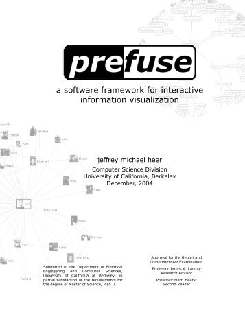 a software framework for interactive information visualization