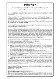 Pokyny k vyplnění Vyúčtování daně vybírané srážkou podle zvláštní ...