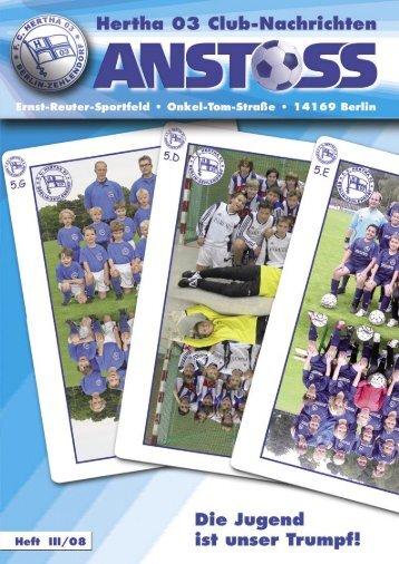 Junioren - F.C. Hertha 03 Zehlendorf e.V.